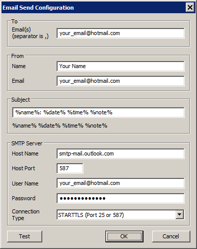 manually test sendmail with tls