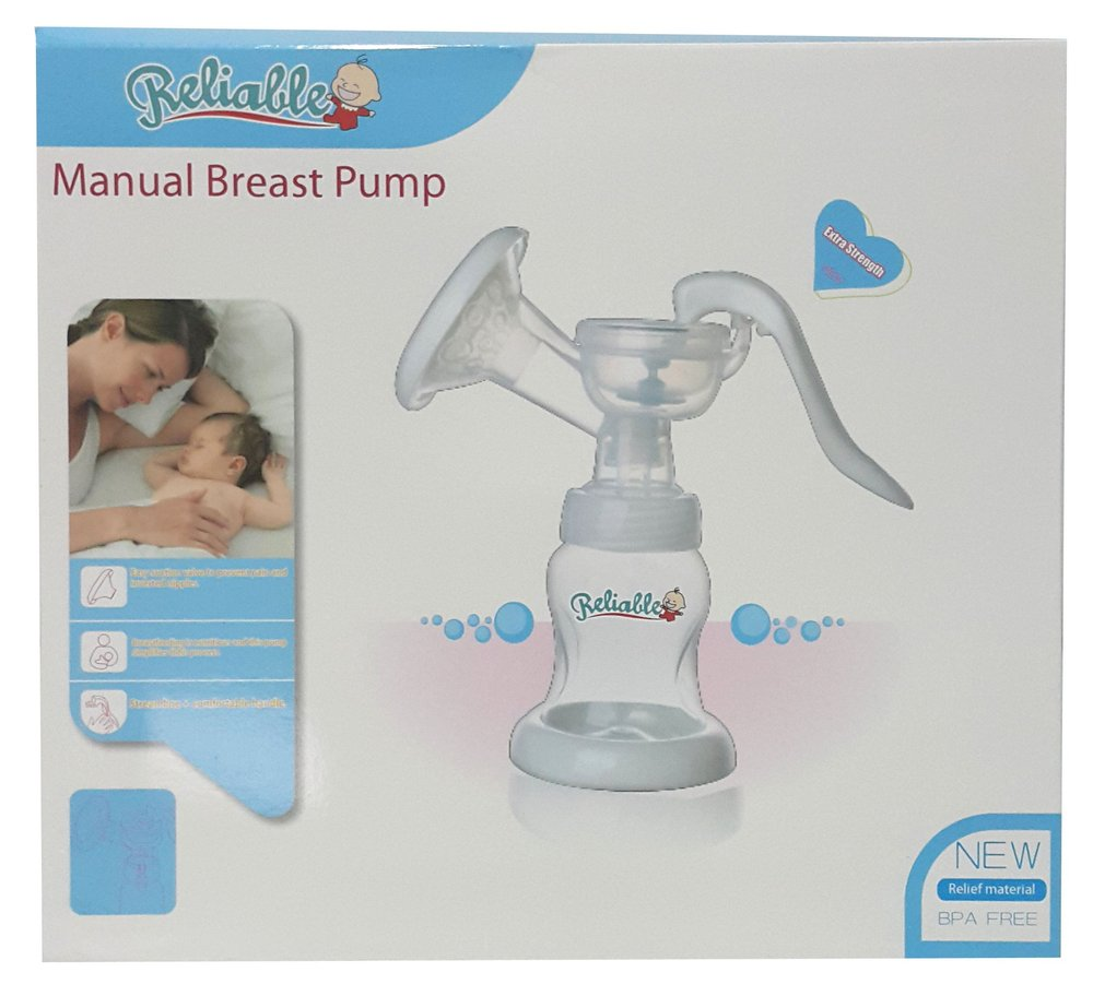 can a manual breast pump be reused