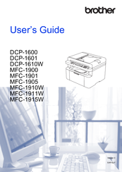 brother dcp-1612w user manual