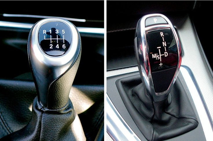 can you change the transmission from automatic to manual
