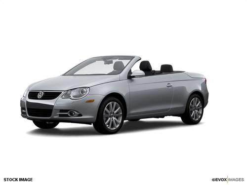 where is the manual trunk release in the 2007 eos