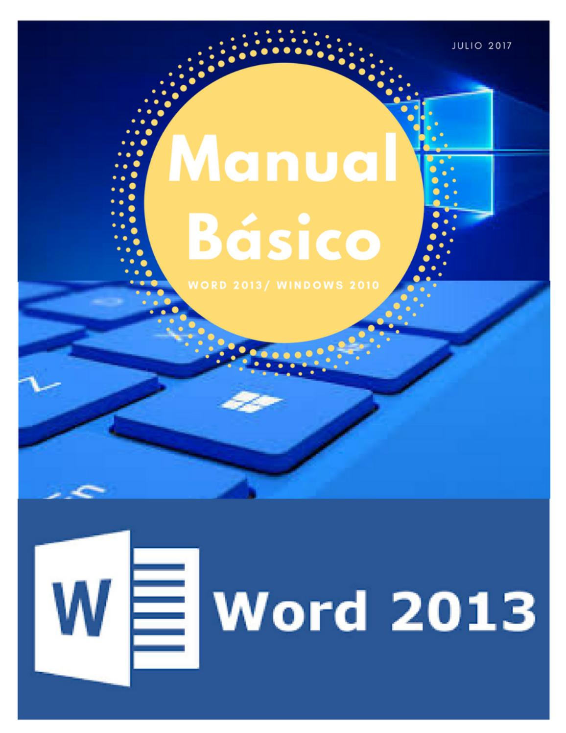 word manual for windows 10